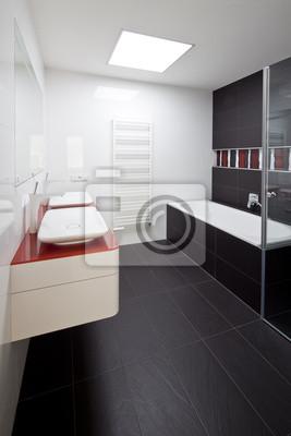 nouvelle grande salle de bains de luxe moderne