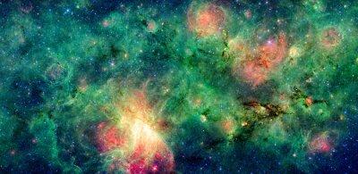 Image Nuage sombre M17 et M17 SWex nébuleuse. Retouché et nettoyé la version de l'image originale de la NASA