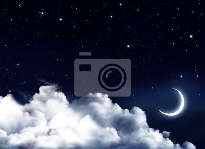 Nuit calme, fond