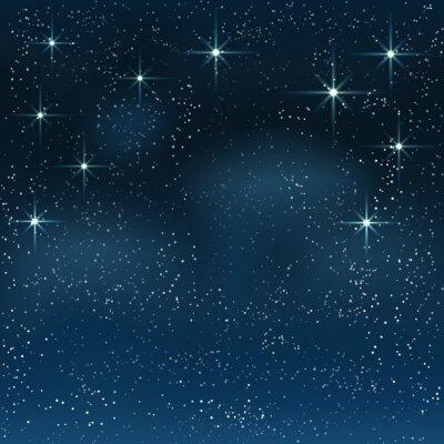 Image Nuit ciel étoilé