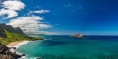 Image Oahu, est, côte, vue, paysage