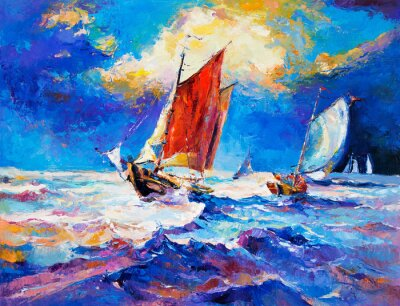 Image Ocean et bateaux