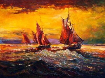 Image Ocean et le navire