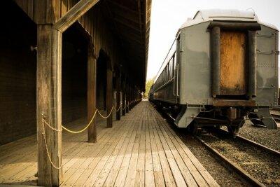 Image Old train sur la station
