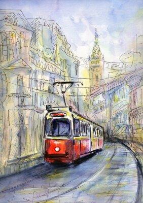 Image Old tram