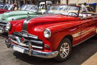 Image Oldtimer dans le centre de La Havane