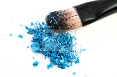 Ombres et pinceau de maquillage