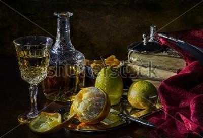 Image Oranges, poires et abricots secs