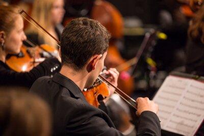 Image Orchestre symphonique du spectacle.