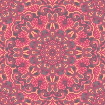 Image Oriental seamless pattern fleuri.