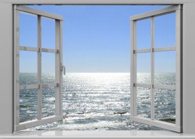 Image Ouvrir la fenêtre à l'été - 3D