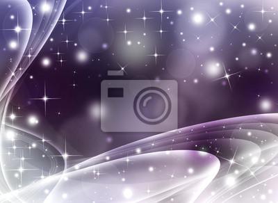 Pailleté festive fond abstrait avec des étoiles