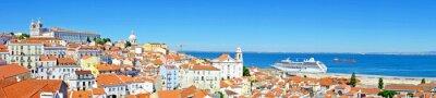 Image Panorama de Lisbonne au Portugal