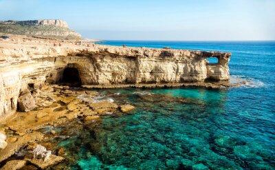 Image Panorama des grottes de mer
