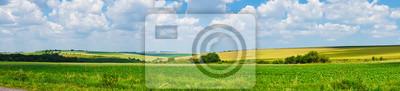 Image panorama magnifique vue paysage terrain