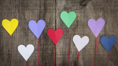 Image Paper Hearts