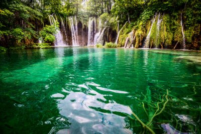 Image Parc national Plitvicka Croatie