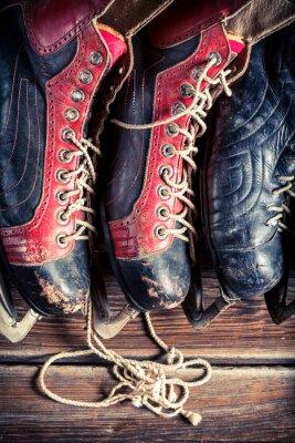 Image Patins de hockey Vintage