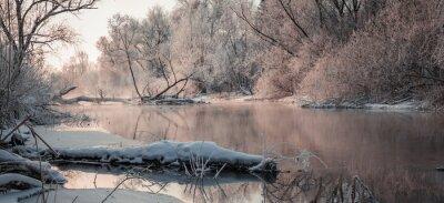 Image Paysage d'hiver fantastique