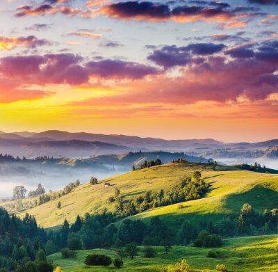 Image paysage de montagnes