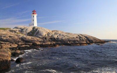 Image Peggy Lighthouse Cove, Nouvelle-Écosse, Canada
