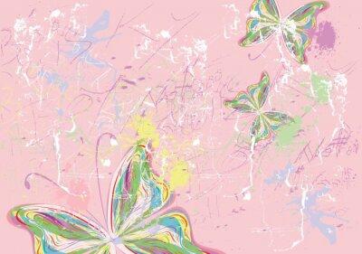 Image peintures de papillon