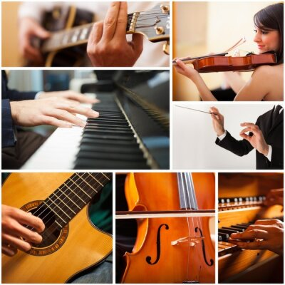 Image People playing musical instrument