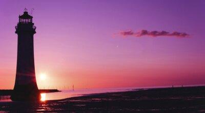 Image Perche, rocher, phare, nouveau, Brighton, Wirral