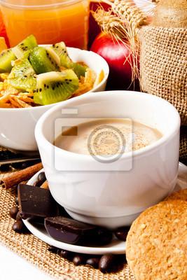 Petit déjeuner Cappuccino