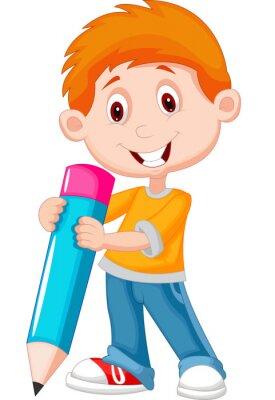 Image Petit garçon avec un crayon