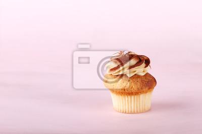 petit gâteau avec glaçage