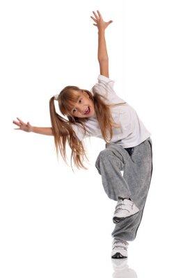 Image Petite fille qui danse
