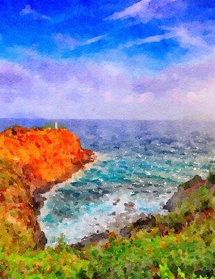 Image Phare de Kauai