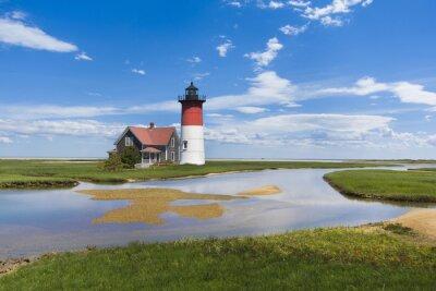 Image Phare sur Cape Cod, MA. USA