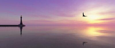 Image phare sur la côte