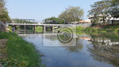 Phetchaburi, rivière, Phetchaburi, Thaïlande