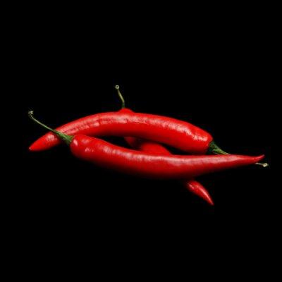 Image piments rouges chauds