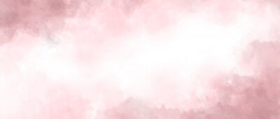 Image Pink color abstract watercolor background