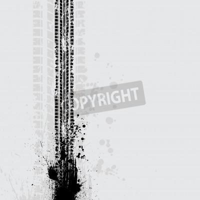 Image Piste, piste, grunge, ombre