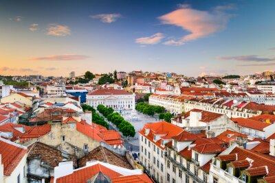 Image Place Rossio de Lisbonne