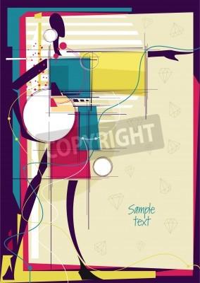 Image Placez pour votre texte. Vector illustration.