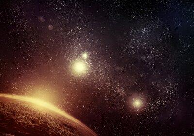 Image Planet et Starfield