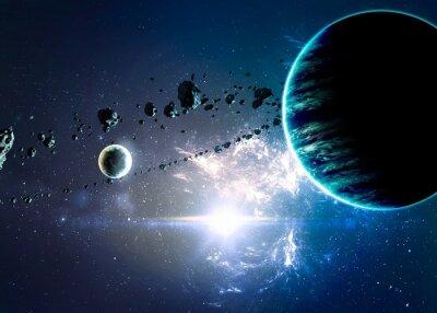 Image Planètes plus nébuleuses dans l'espace. Éléments de cette image