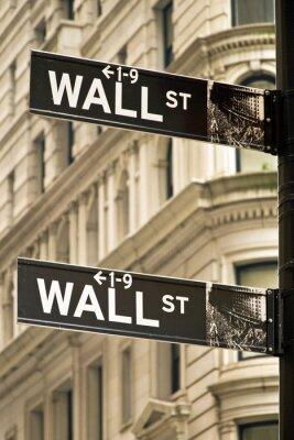 Image plaques de rue de mur à New York ville