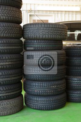 pneus à l'entretien des pneus