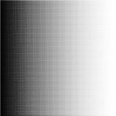 Image Points de trame gradient en format vectoriel
