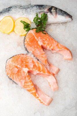 Image Poissons et saumons du maquereau