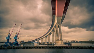 Image Pont au dessus de la Loire - Nantes