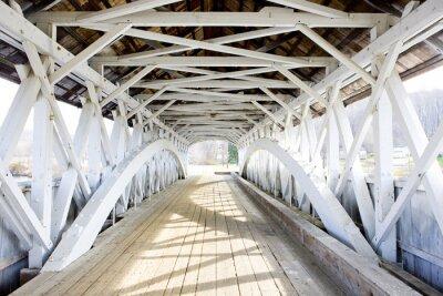 Image Pont couvert groveton (1852), New Hampshire, États-Unis