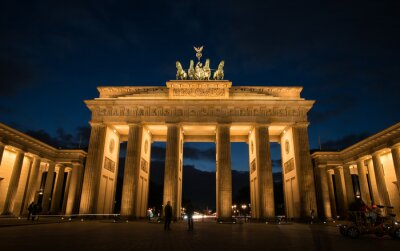 Image Porte de Brandebourg Berlin Allemagne